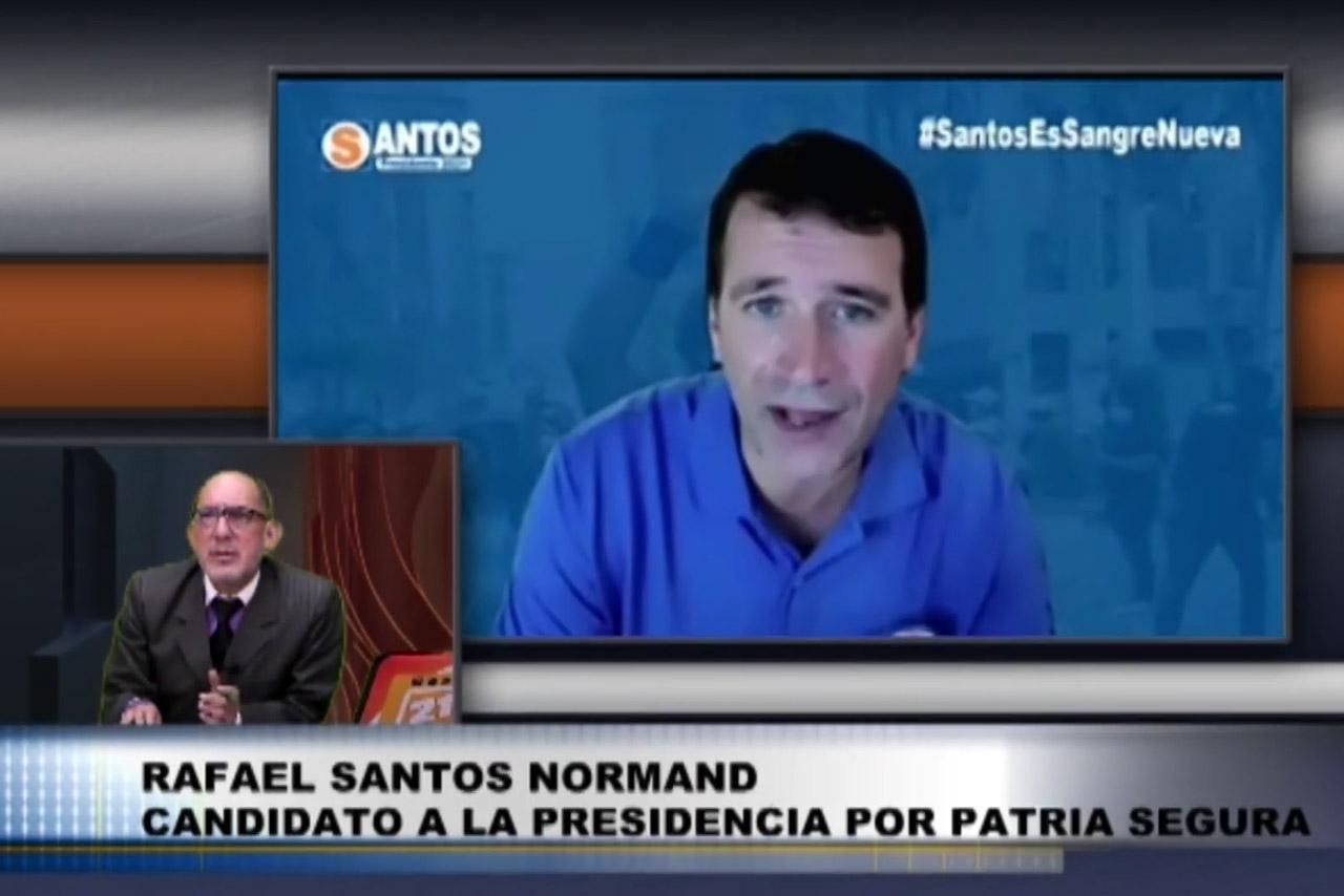 Entrevista al candidato Rafael Santos de Perú Patria Segura