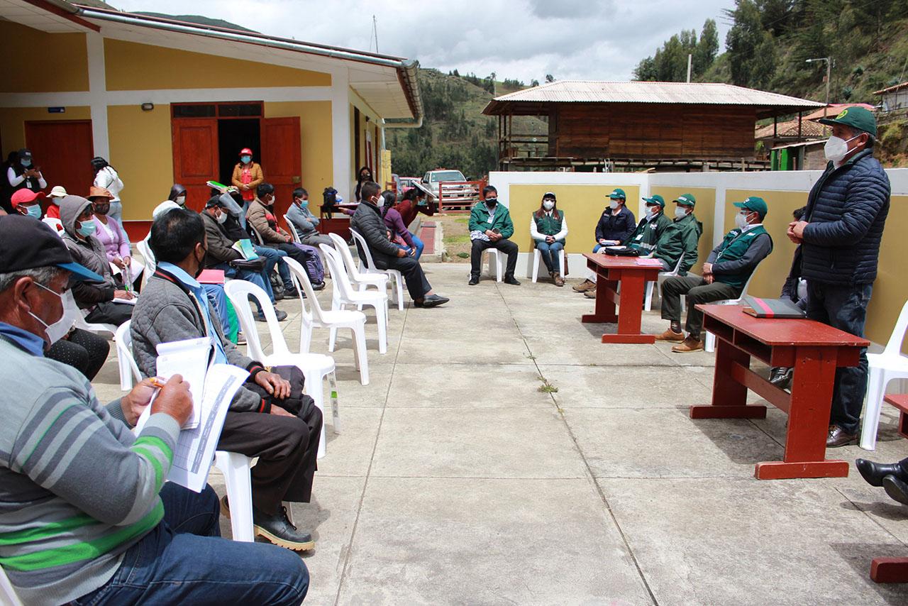 Dirección de Agricultura, organismos de MIDAGRI Y autoridades de Pucará se unen por el agro