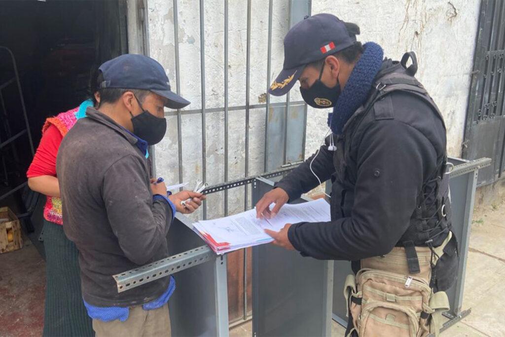 Chilca: Inician ordenamiento de calles