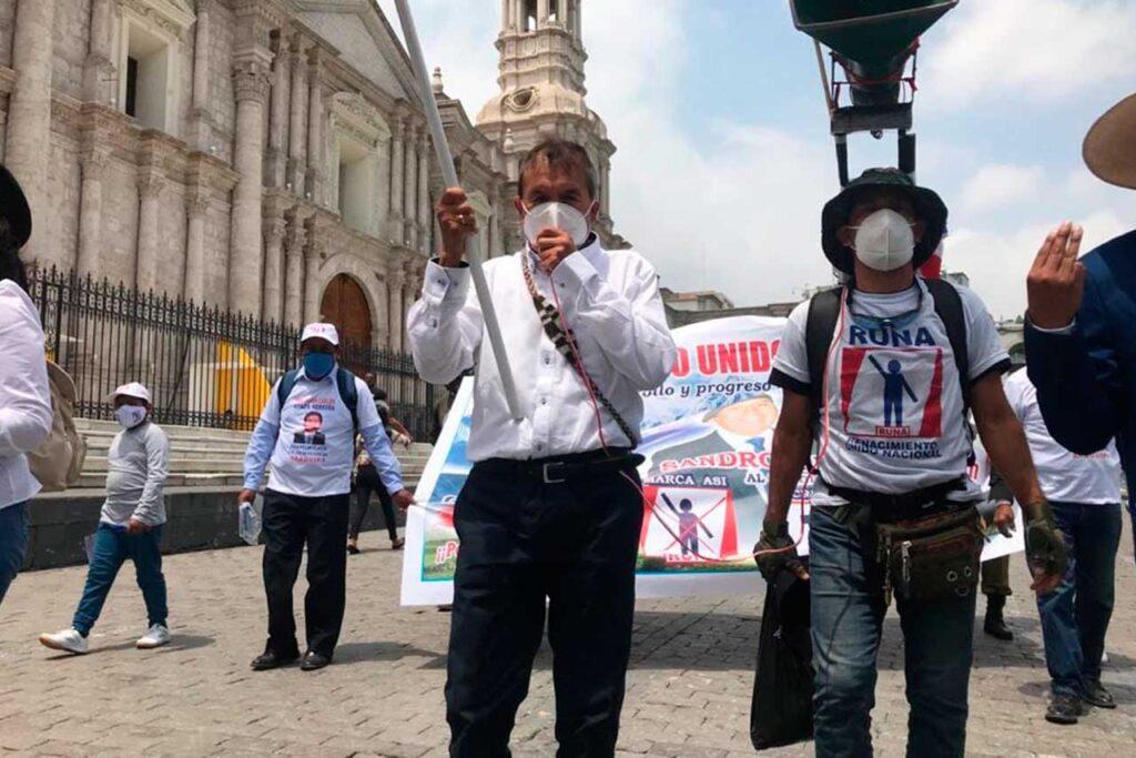 Ciro Gálvez participará en el debate en forma virtual