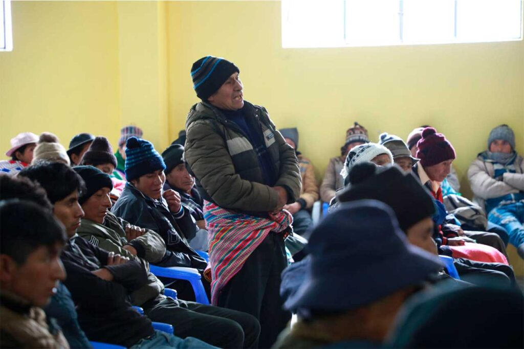 Iniciarán proceso de georreferenciación en comunidad Huánuco en Andamarca
