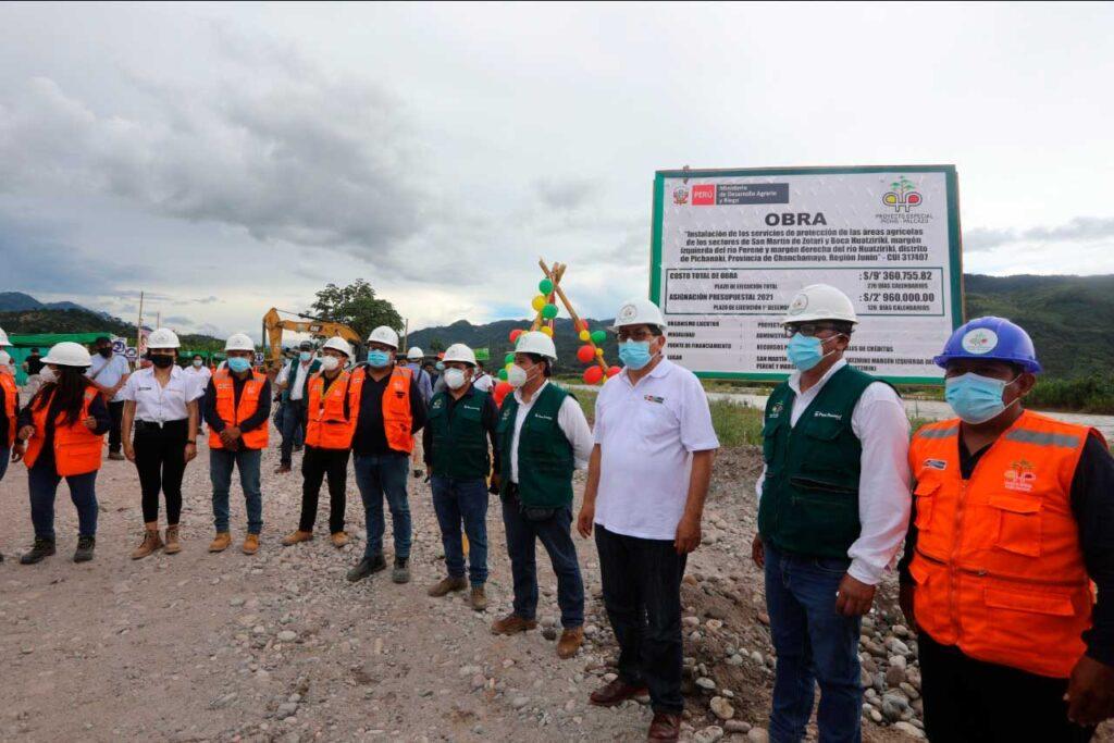 Gobierno Nacional fortalece Agricultura Familiar en la Selva Central