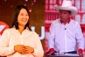 Pedro Castillo y Keiko Fujimori pasan a la segunda vuelta