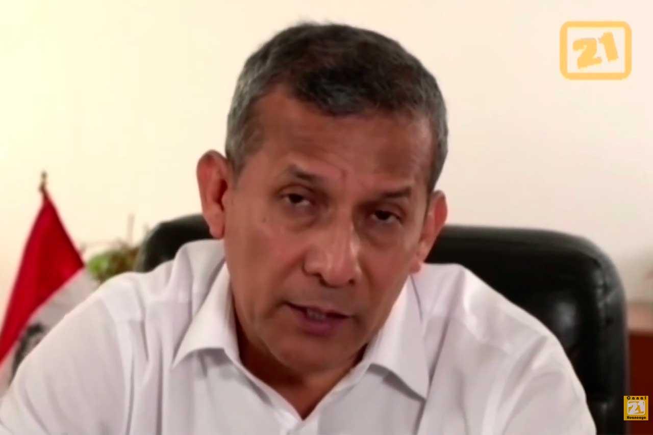 Entrevista al candidato Ollanta Humala del Partido Nacionalista Peruano