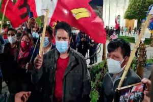 Vladimir Cerrón celebra resultados a boca de urna que beneficia a Pedro Castillo (VIDEO)