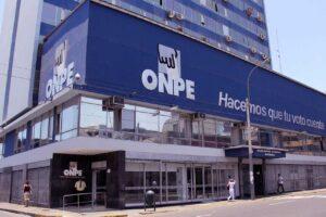 ONPE brinda comunicado oficial a organizaciones políticas