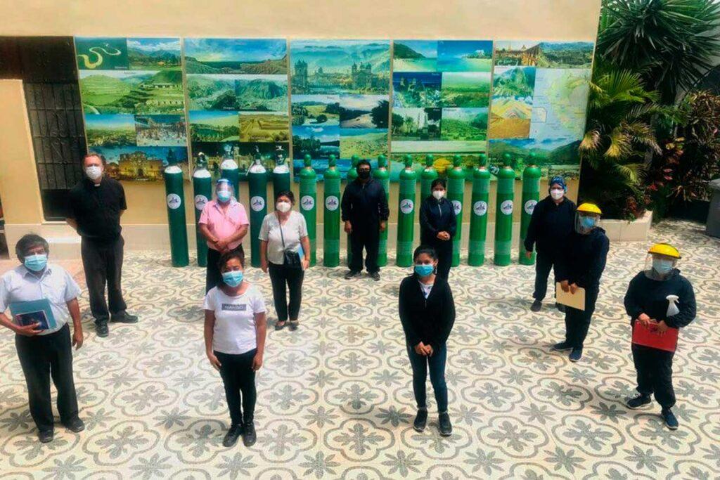 Arzobispado de Piura pide a más empresas sumarse a la campaña Respira Piura