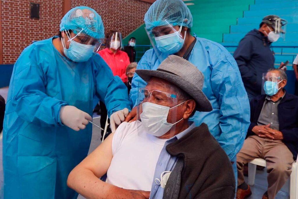 Chilca: 1080 adultos mayores serán vacunados contra el COVID – 19 (VIDEO)
