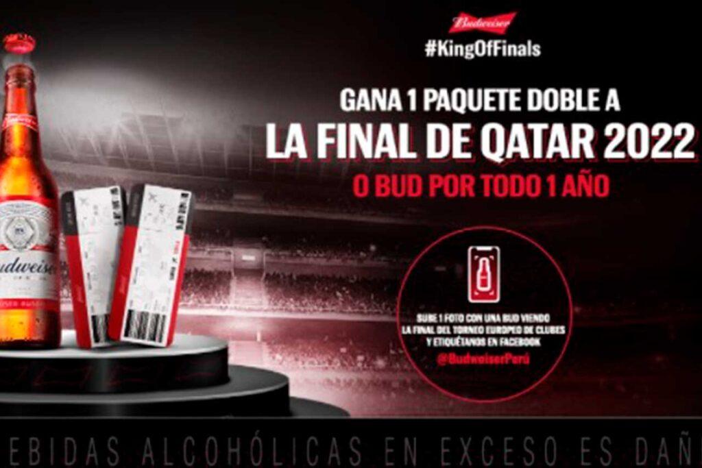 Budweiser te invita a disfrutar de la verdadera final del deporte rey