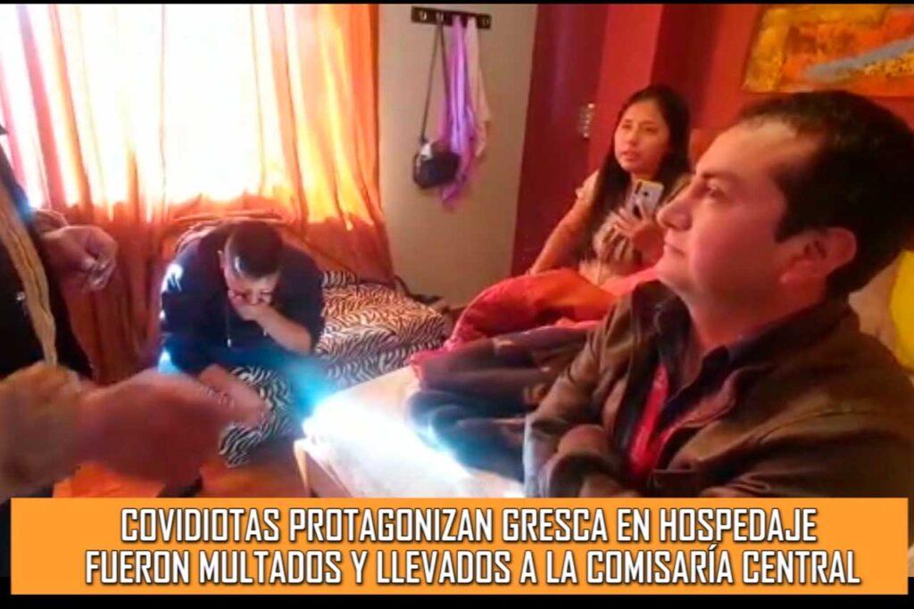 Covidiotas protagonizan gresca en hospedaje (VIDEO)