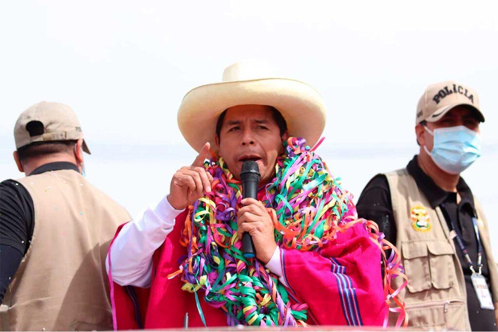 Pedro Castillo: Respetaremos las instituciones, la propiedad y los ahorros del pueblo peruano