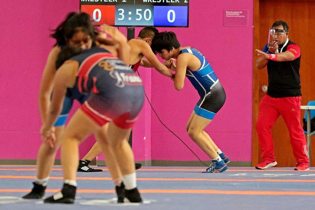 Retornaron los campeonatos nacionales de lucha amateur