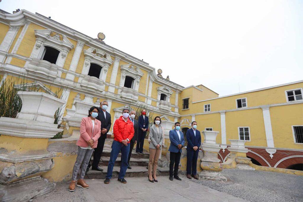Atención Lima: con inversión de S/ 24 millones se recuperará para el turismo el monumento histórico la Quinta de Presa