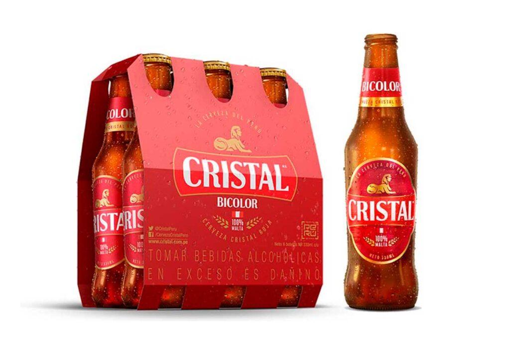 Backus lanzó la nueva Cristal Bicolor hecha de 100% Cristal