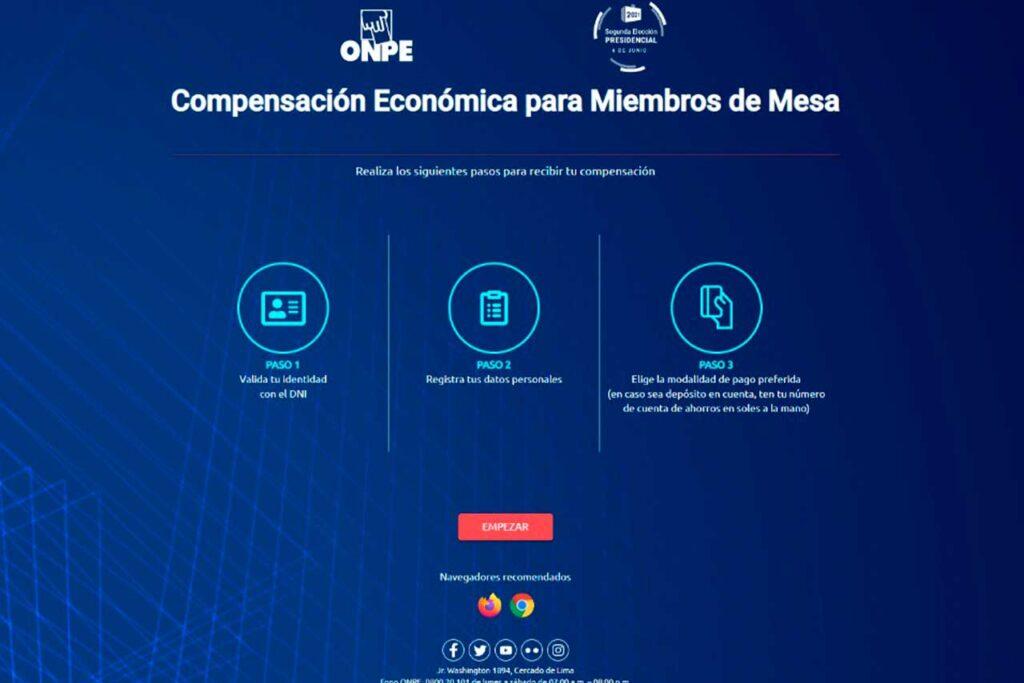 Miembros de mesa de la Segunda Elección Presidencial deben validar sus datos en web de la ONPE
