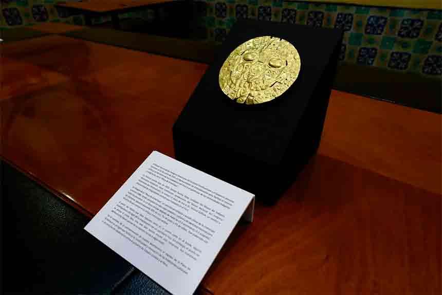 Ministerio de Cultura declaró Patrimonio Cultural de la Nación al Sol de Echenique
