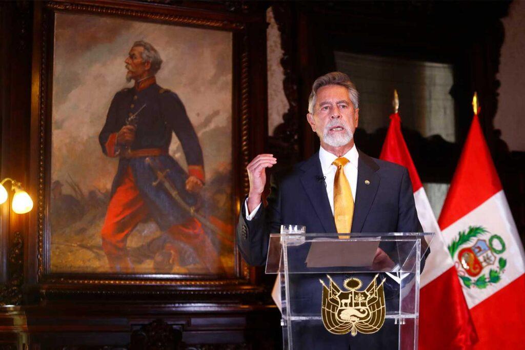 Presidente Sagasti pide a la ciudadanía acudir a votar y respetar resultados de la elección (VIDEO)