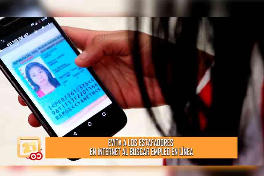 Evita a los estafadores en internet al buscar empleo en línea (VIDEO)
