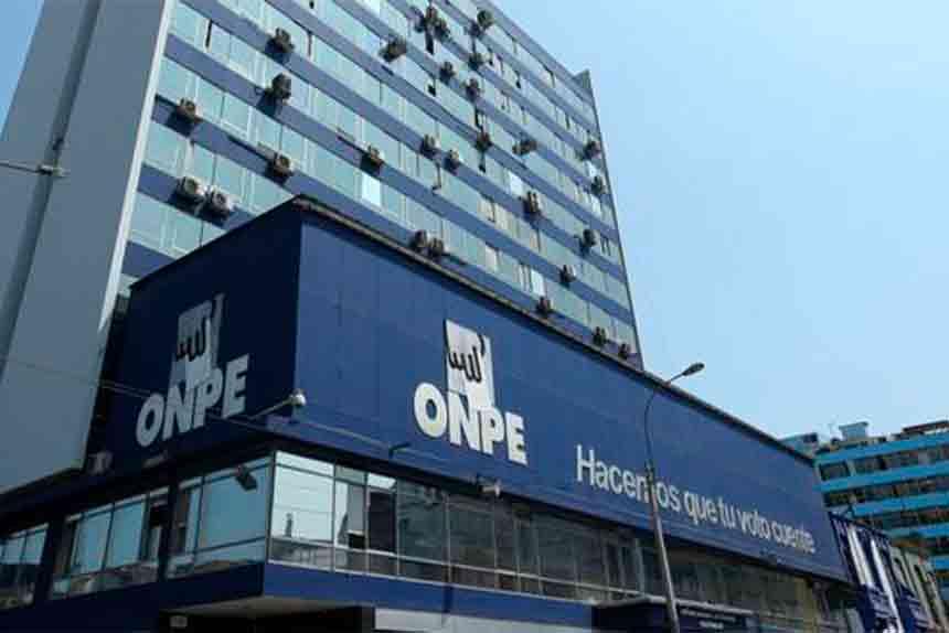 Hoy vence plazo para que organizaciones políticas presenten a la ONPE la información financiera anual 2020