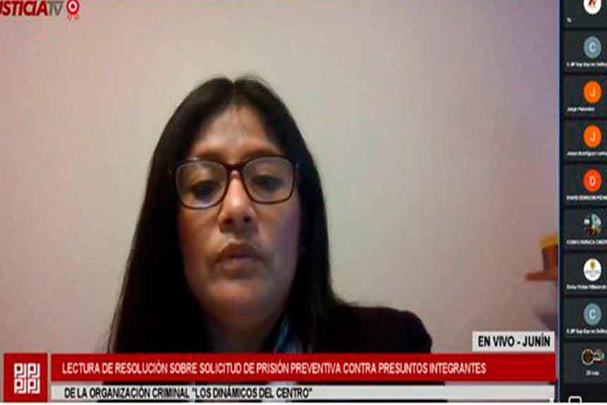 Corte de Junín ordena comparecencia restringida contra Los Dinámicos del Centro