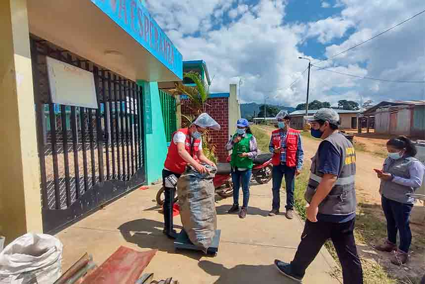 Junín: Qali Warma y Municipalidad de Pichanaqui promueven correcta segregación de residuos sólidos