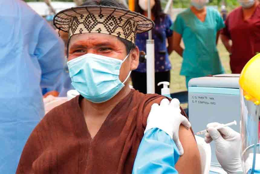 A nivel regional: Ministerio de Cultura difunde mensajes en lenguas indígenas durante jornadas de vacunación contra la COVID-19 a los pueblos indígenas