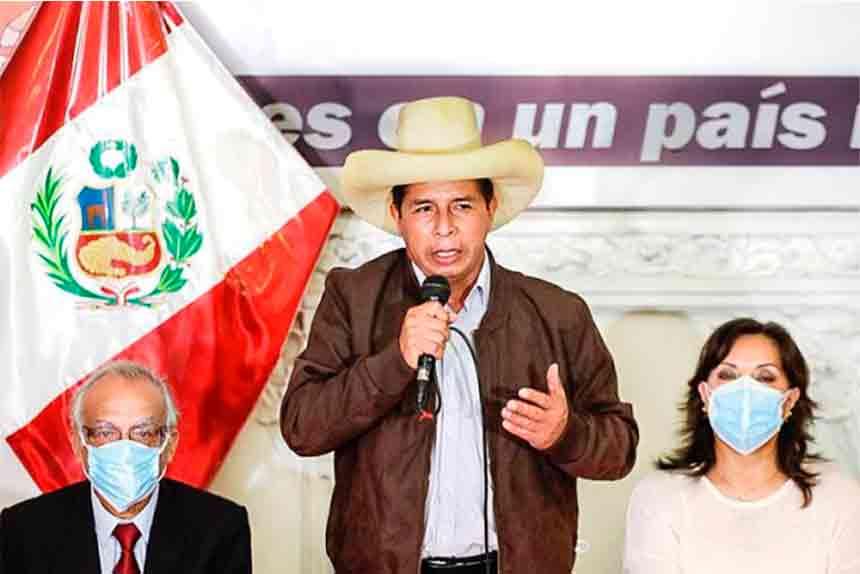 Pedro Castillo: Anuncios oficiales sobre gobierno se darán luego de la proclamación del JNE