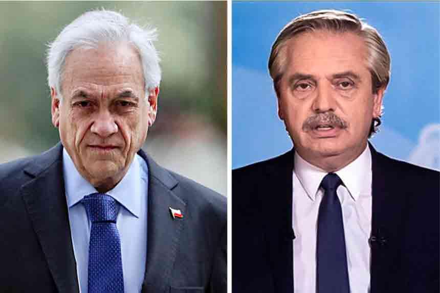 Presidentes de Chile y Argentina viajan a Perú para investidura de Pedro Castillo