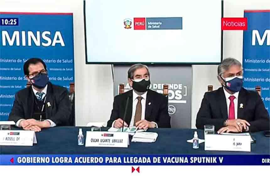 Ugarte: Gobierno de Castillo tendrá 70 millones de dosis para continuar con la vacunación