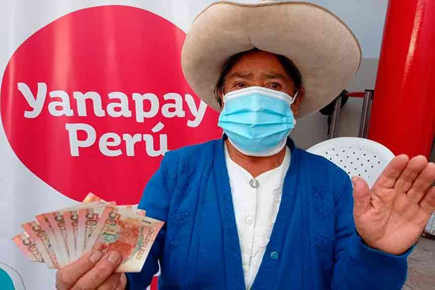 Bono Yanapay Perú: Conoce cronograma actualizado para cobrar beneficio