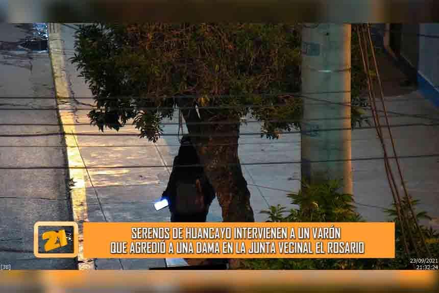 Cámaras de seguridad registraron agresión de un sujeto contra de una mujer (VIDEO)